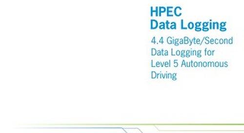 Level 5 Autonomous Driving - Extreme Performance for HPEC Systems