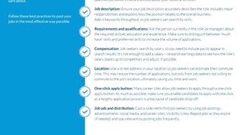 How to create engaging job postings