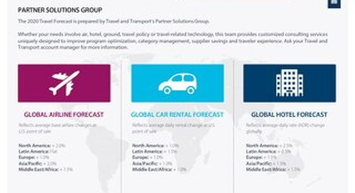 Travel and Transport 2020 Travel Forecast