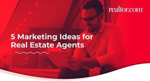 5 marketing ideas for real estate agents [eBook]