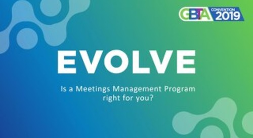 Is a Meetings Management Program Right for You? - GBTA 2019 Slides