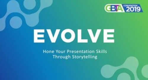 Hone Your Presentation Skills Through Storytelling - GBTA 2019