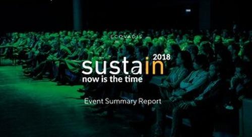 #2018 Sustain Event Summary Report