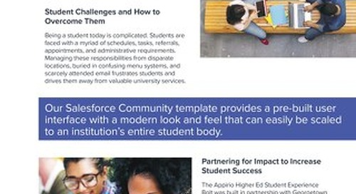 Student Experience Bolt - Higher Ed