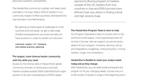 European Roots, Unlimited Reach: How HackerOne's Global Community Protects Applications and Users