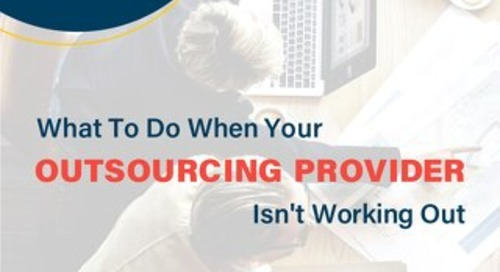 What To Do When Your BPO Isn't Working Out