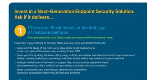 5 Tips for Choosing a Next-Generation Endpoint Security Solution