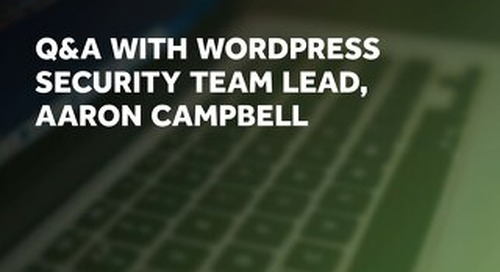 Wordpress Q&A With Security Team Lead