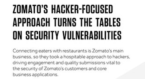 Zomato's Hacker-Focused Security Approach