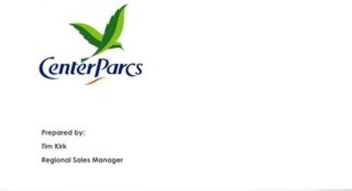 CSOD RFP Response - Center Parcs