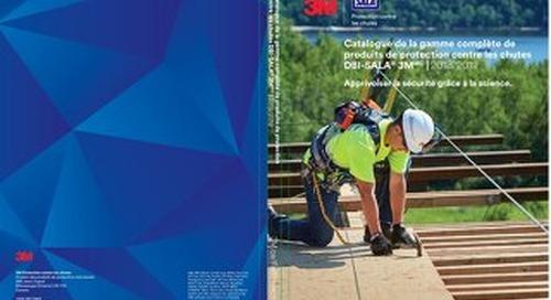 Catalogue de la gamme complète de produits de protection contre les chutes DBI-SALA® 3M(MC)| 2018/2019