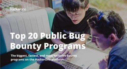 Top 20 Public Bug Bounty Programs