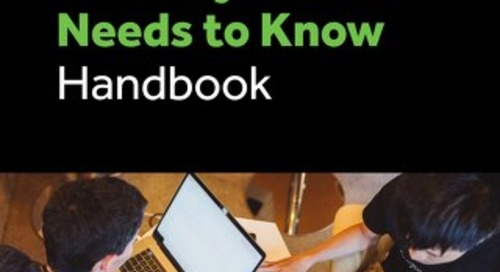 What Every Security Leader Needs to Know Handbook