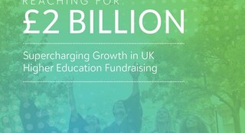 Supercharging Growth in UK Higher Education Fundraising