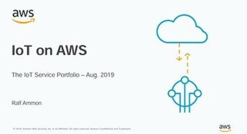 AWS IoT Service Portfolio - Präsentation