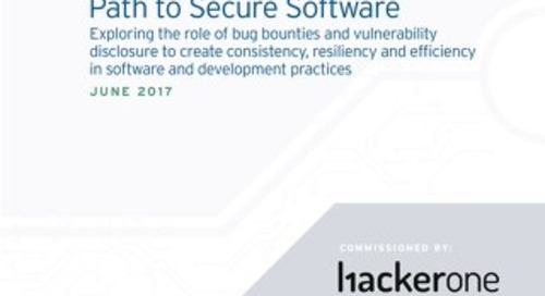451 Group Report: Bug Bounties and the Path to Secure Software