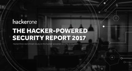 Hacker-Powered Security Report 2017