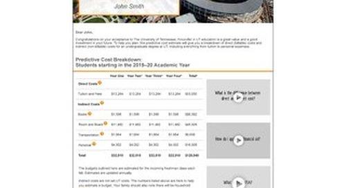 Tennessee Acceptance Letter with Predictive Cost Estimate