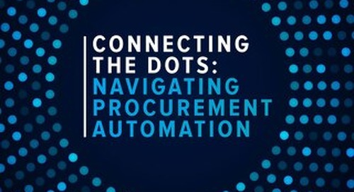 Connecting the Dots - Navigating Procurement Automation
