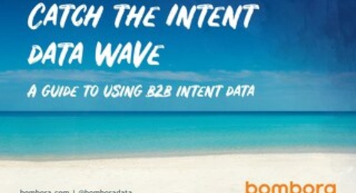A guide to using B2B intent data