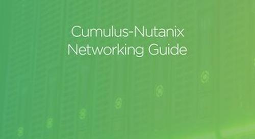 Cumulus - Nutanix Networking Guide