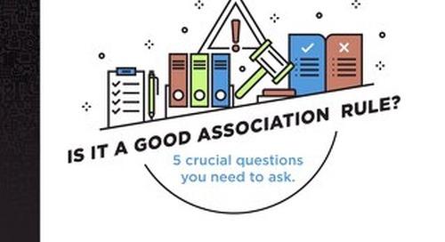 Is It a Good Association Rule?