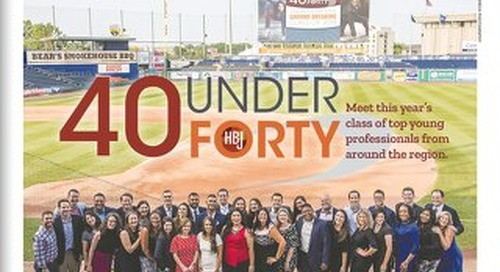 40 Under Forty Awards — August 5, 2019