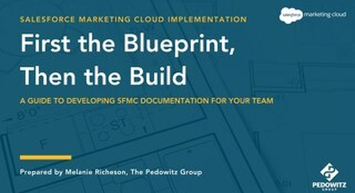 Salesforce Marketing Cloud Implementation eBook