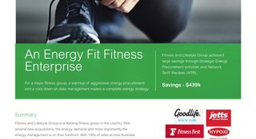 An Energy Fit Fitness Enterprise