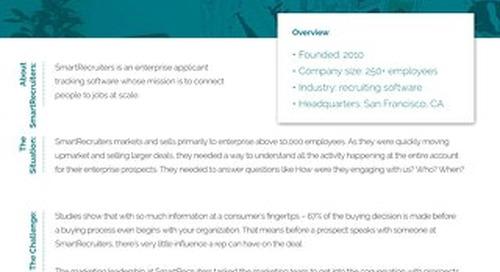 Engagio Case Study  |  SmartRecruiters