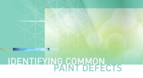 Guide to Identifying Common Paint Defects