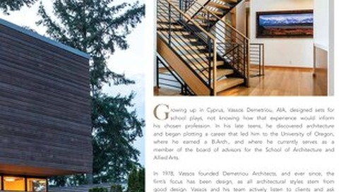 The MODERN Residence Book layout