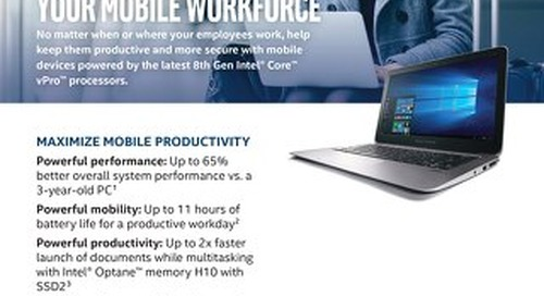 Intel 8th Gen vPro Processors
