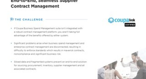 Solution Brief | Icertis Integration for Coupa