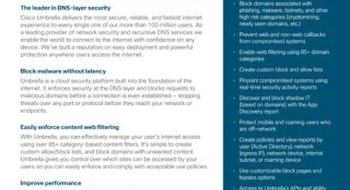 Cisco Umbrella DNS Security Essentials