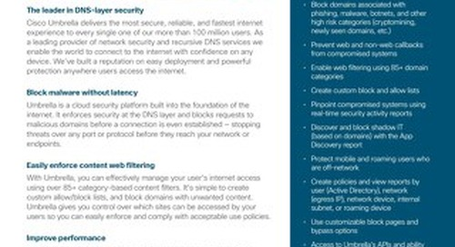 Cisco Umbrella DNS Security Essentials
