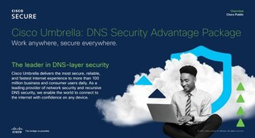 Cisco Umbrella DNS Security Advantage
