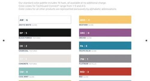 Bretford Color Guide