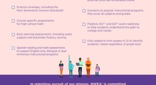 MAP Suite Reach More Students Checklist