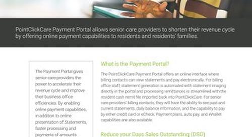 Payment Portal: Solution Sheet