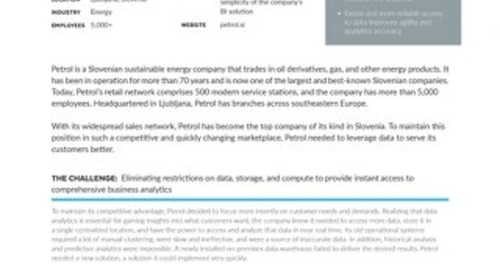 Petrol: Delivering Superior, Data-Driven Customer Service