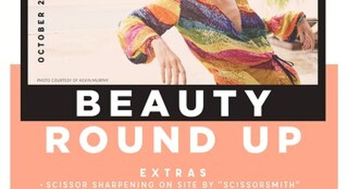 Beauty Round Up 2019 Brochure