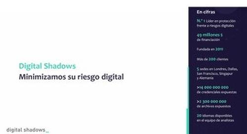 Digital Shadows - Minimizamos su riesgo digital