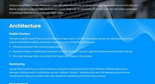 Why Choose Liquid Web Private Cloud