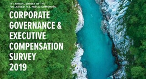 2019-corporate-governance-executive-compensation-survey