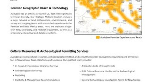 Field and Environmental Solutions Covering New Mexico and the Permian Region