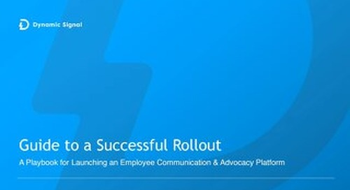 Guide to a Successful Rollout