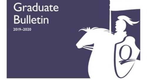 Graduate Bulletin 2019 - 2020