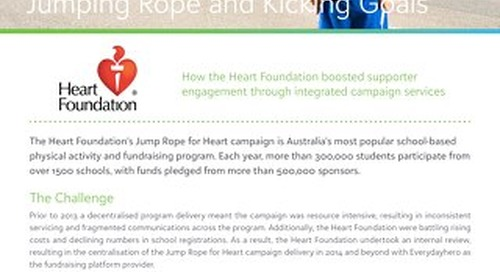 Jump Rope for Heart Case Study