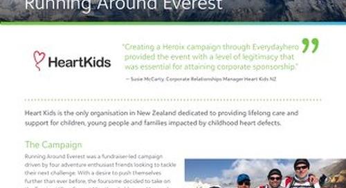 Heart Kids - Running Around Everest